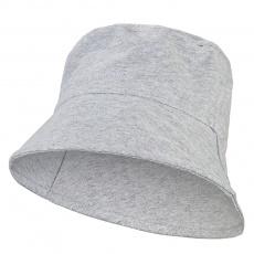 Little Angel-Klobouk tenký Outlast® - šedý melír Velikost: 3 | 42-44 cm