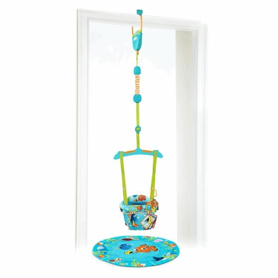Disney baby Hopsadlo do dveří Finding Nemo 2v1 6m+, do 12kg 2019