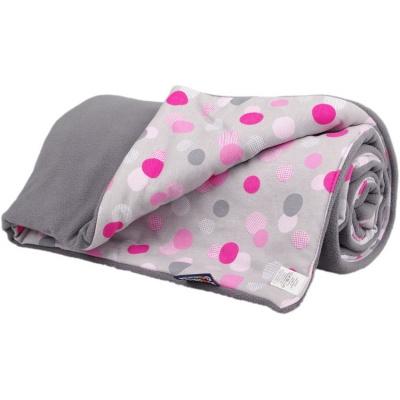 KAARSGAREN-Zateplená dětská deka šedé puntíky