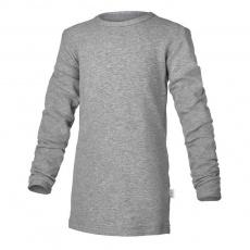 Little Angel-Tričko smyk DR Outlast® - šedý melír Velikost: 152