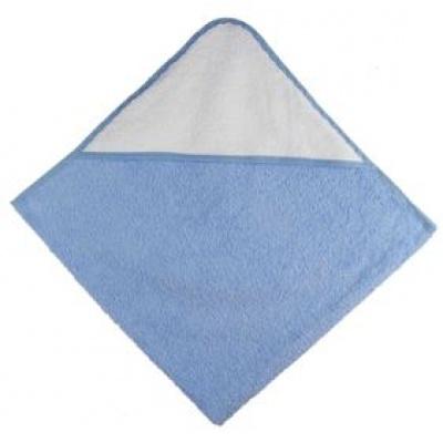 KAARSGAREN-Osuška s kapucí modrá