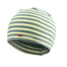 Little Angel-Čepice smyk natahovací Outlast ® - pruh limetkový Velikost: 1 | 36-38 cm