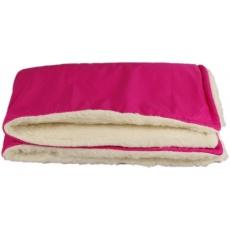 KAARSGAREN-Růžová zimní deka merino