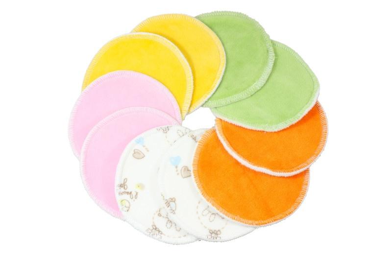 Petit Lulu-5 párů vložek do podprsenky-barevné
