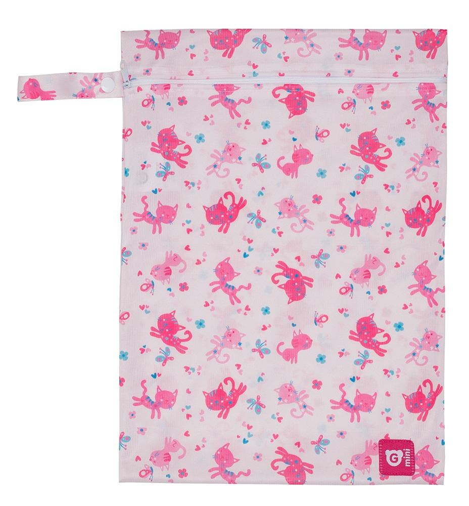Gmini Pytlík na pleny růžová kočička UNI