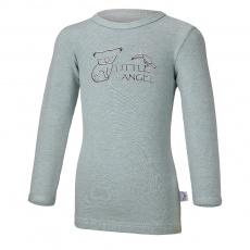 Little Angel-Tričko smyk KOALA Outlast® - lišejník melír Velikost: 86