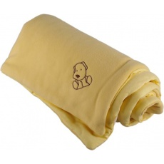 KAARSGAREN-Zateplená dětská deka žlutá - doprodej