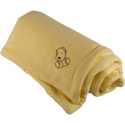 KAARSGAREN-Zateplená dětská deka žlutá