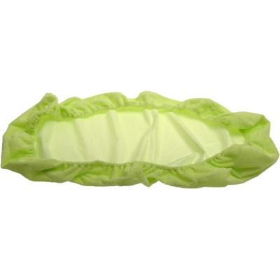 KAARSGAREN-Nepropustné prostěradlo 60x120cm zelené froté bavlna