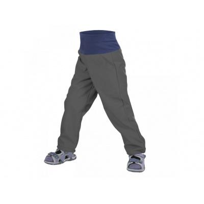 UNUO-NEW Batolecí softshellové kalhoty bez zateplení Antracitová