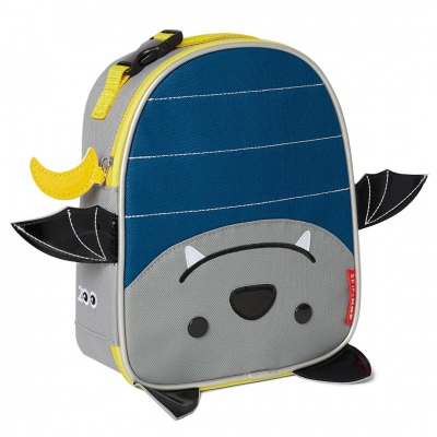 Skip Hop Zoo batůžek svačinový - Netopýr 3+