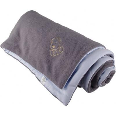 KAARSGAREN-Zateplená dětská deka šedo modrá