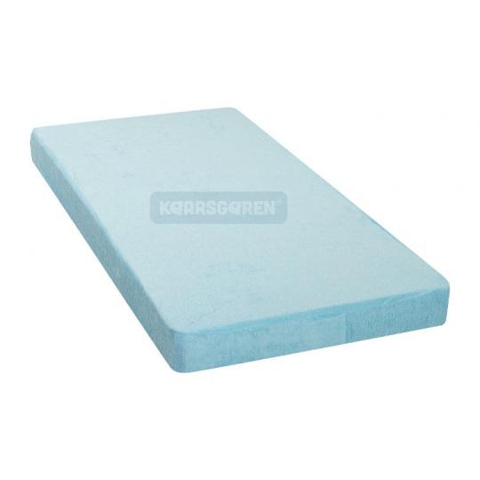 KAARSGAREN-Nepropustné prostěradlo 80x160cm modré froté bavlna