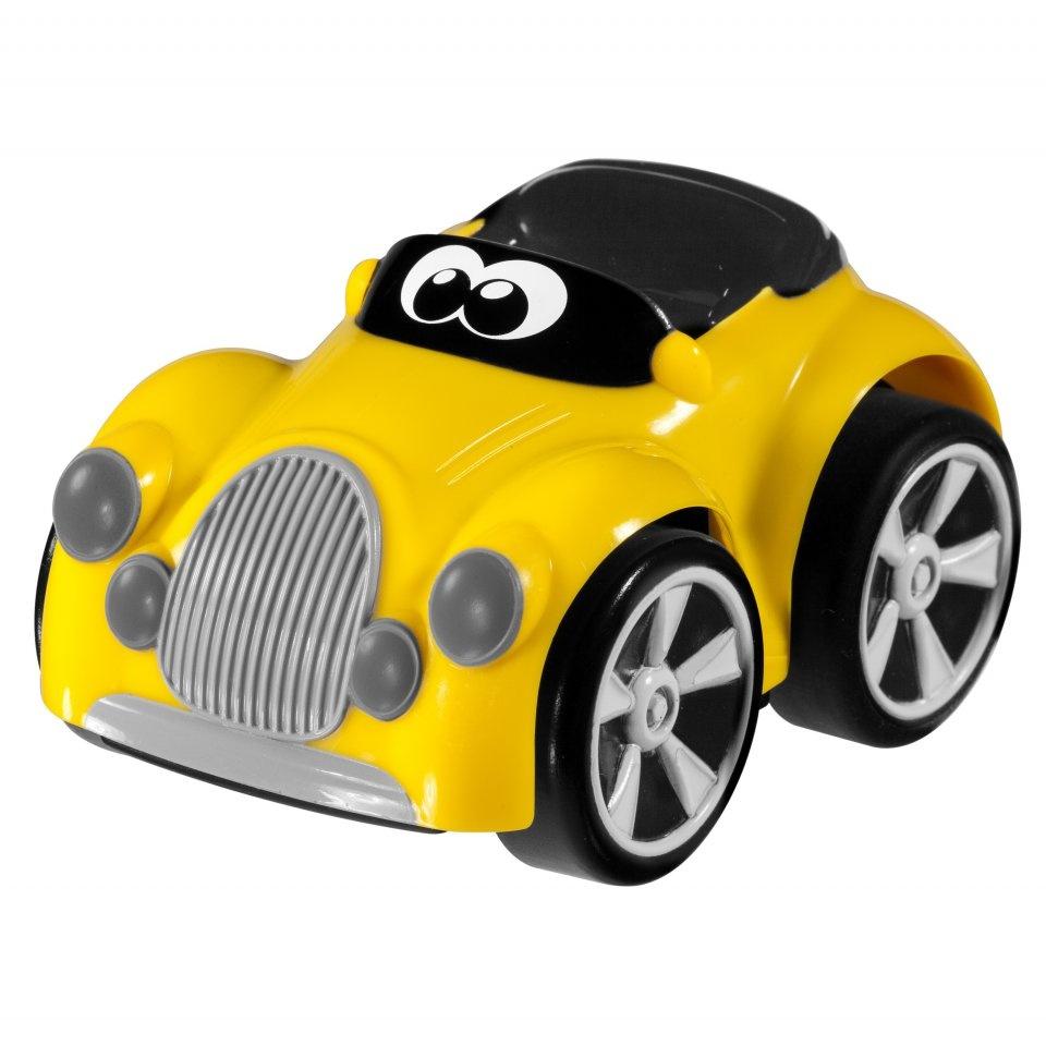 Chicco Hračka autíčko Turbo Team Henry - žluté