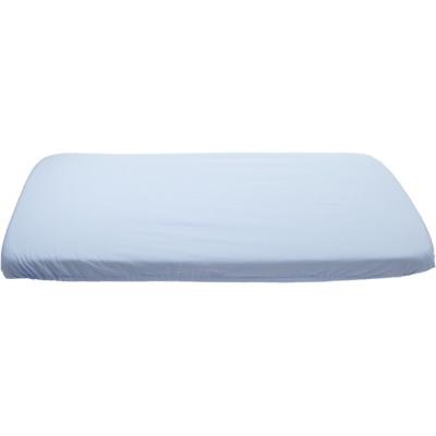 KAARSGAREN-Modré prostěradlo bavlněné plátýnko 70 x 160 cm