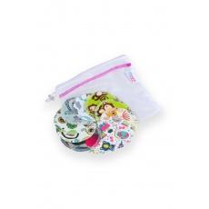 Petit Lulu-Odličovací tampóny 10 ks + pytlík na praní