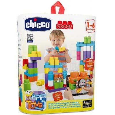 Chicco Hračka stavebnice App Toys 70ks - Extra kapsa