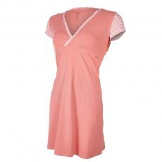 Little Angel-Noční košile tenká Outlast® - pruh broskvový Velikost: XL