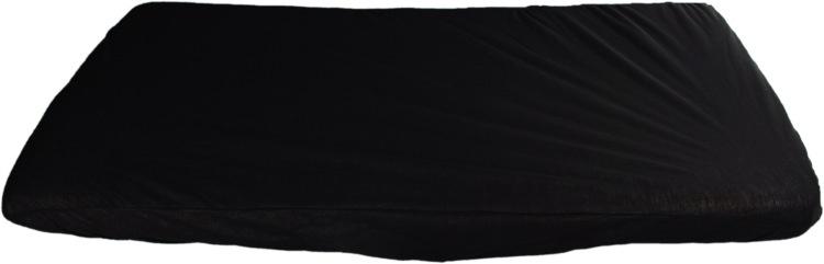 KAARSGAREN-2v1 Černé prostěradlo 60x120cm a chránič matrace