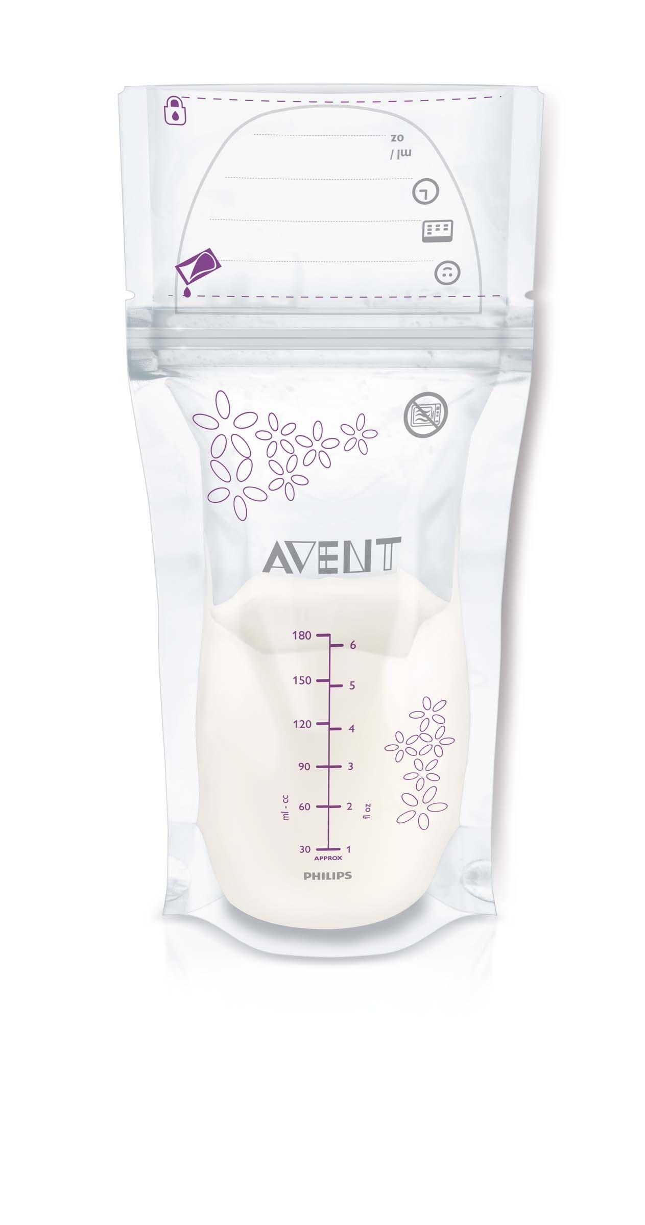Philips AVENT Sáčky na mateřské mléko 180 ml 25 ks
