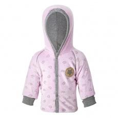 Little Angel-Kabátek NICKI Outlast® - růžová Velikost: 56