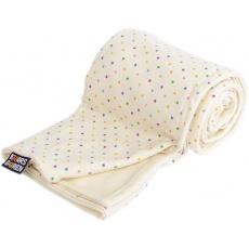KAARSGAREN-Dětská merino deka bio hvězdičky