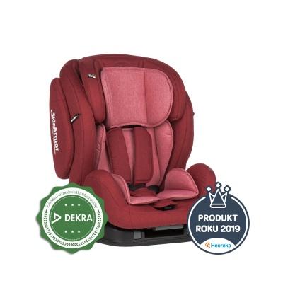 Petite&Mars Autosedačka Prime II Isofix Red 9-36 kg Petite&Mars