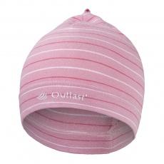 Little Angel-Čepice smyk natahovací Outlast ® - pruh stř.růžový Velikost: 2 | 39-41 cm