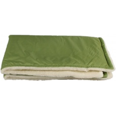 KAARSGAREN-Zelená zimní deka merino