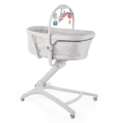 Chicco Postýlka/lehátko/židlička Chicco Baby Hug 4v1 - Glacial