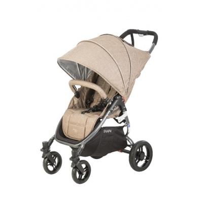 valco baby Kočárek sportovní Valco Snap 4 Tailor Mocha Sand metalická šedá konstrukce