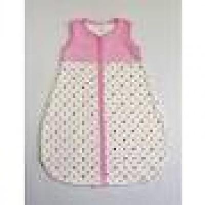 Button Style - Spací pytel malý – letní -Proužky růžové