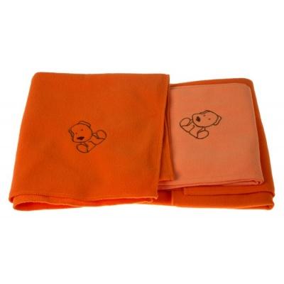 KAARSGAREN-Sada dvou dek s pejskem oranžová