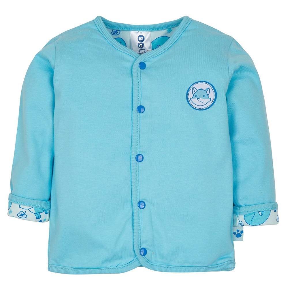 Gmini PRIMA-kabátek LIŠKA A modrá 080