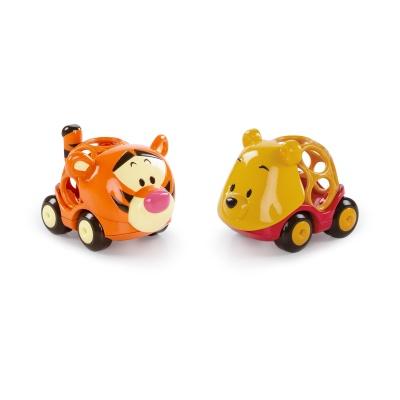 Disney baby Hračka autíčka Winnie The Pooh&Friends Go Grippers™ 2ks, 18m+