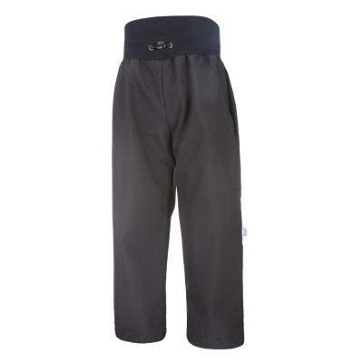 Little Angel-Kalhoty softshell tenké - černá Velikost: 110