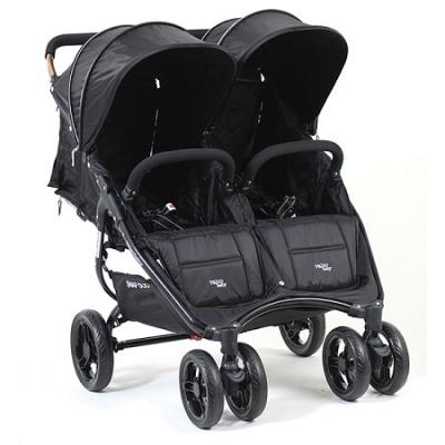 valco baby Kočárek dvojčatový Valco Snap  Duo Black černá/černá