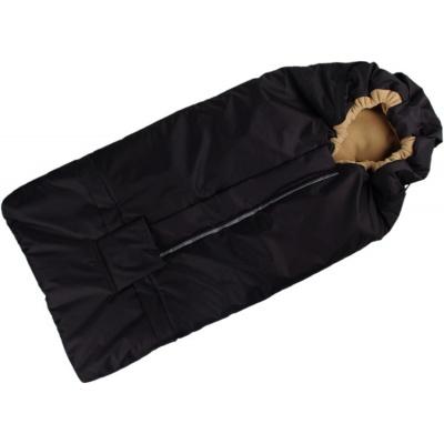 KAARSGAREN-Fusak černo-béžový s fleece podšívkou