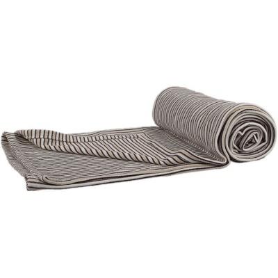 KAARSGAREN-Bambusová deka hnědé proužky oboulíc
