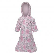 Little Angel-Zimní pytel MAZLÍK Outlast® - kytky/růžová baby Velikost: 62
