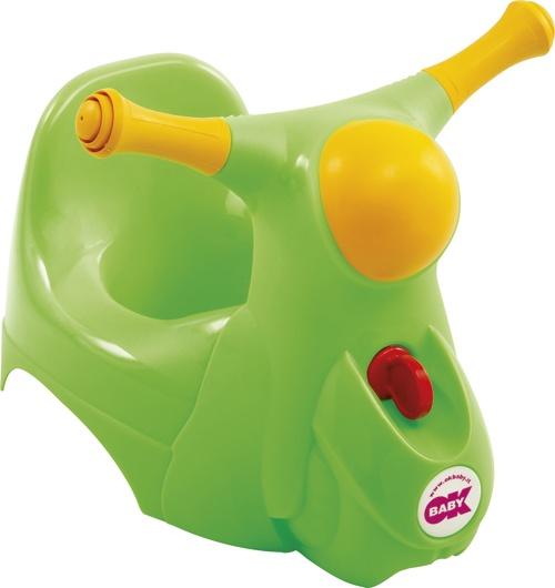 OK Baby Nočník Scooter zelená 44