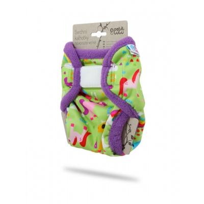 Petit Lulu-Svrchní kalhotky novorozenecké-Koníci