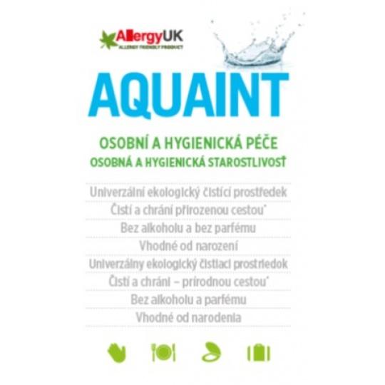 AQUAINT 100% ekologická čisticí voda 500 ml CZ/SK