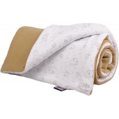 KAARSGAREN-Zateplená dětská deka béžový sloník