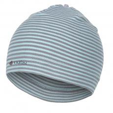 Little Angel-Čepice smyk natahovací Outlast ® - pruh mentolový Velikost: 1 | 36-38 cm