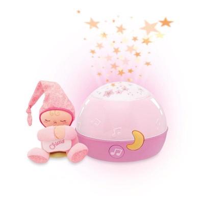 CHICCO Projektor GoodNight Stars - růžový 0m+